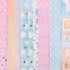 Набор бумаги для скрапбукинга с фольгированием «Сладкая вата», 12 листов 30,5 х 30,5 см