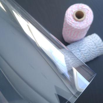 Пластик с защитной пленкой 30х25см