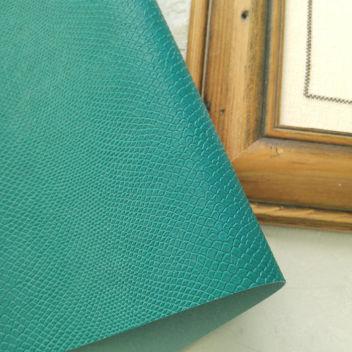 Кожзаменитель Питон цвета зеленая Аркадия
