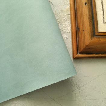 Серо-голубой переплетный кожзаменитель