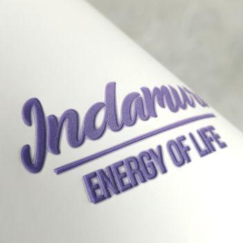 Двухслойный кожзаменитель для горячего тиснения белый+фиолетовый