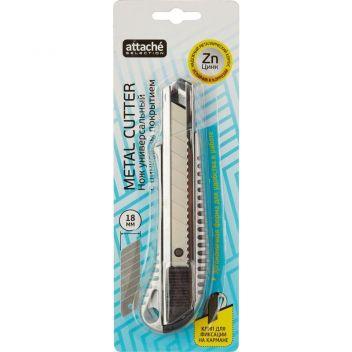 Нож универсальный Attache Selection 18 мм металлический
