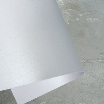 Кардсток перламутровый Белый мрамор