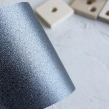 Бумага металлизированная с тиснением Шелк Графит