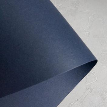 Кардсток матовый Тёмно-синий