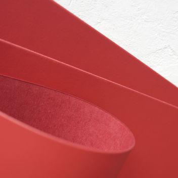 Бумага Soft Матовая красная