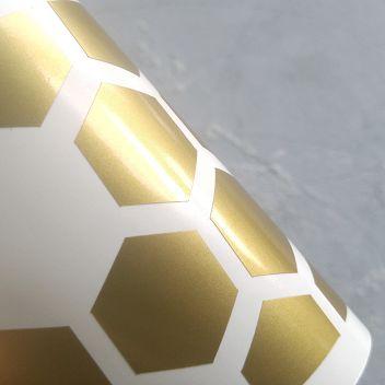Металлик-глянцевая самоклеющаяся пленка Oracal Золото