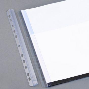 Переплетная планка файл А4 3-4 мм прозрачная
