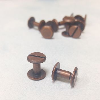 Болты для кольцевого механизма 7мм Медь