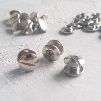 Винт металлический переплетный 02 мм серебро