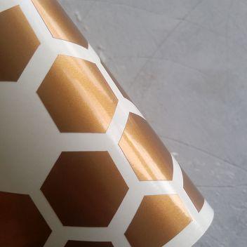 Металлик-глянцевая самоклеющаяся пленка Oracal Бронза