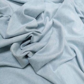 Замша двусторонняя тонкая Светло-голубая