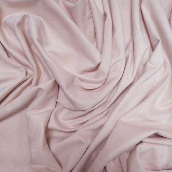 Замша двусторонняя тонкая Светло-розовая