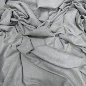 Замша двусторонняя тонкая Серый