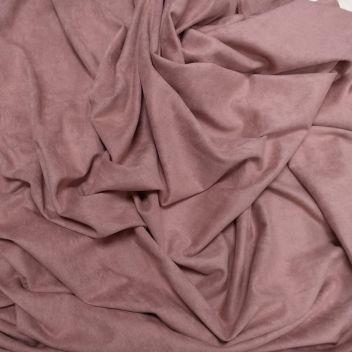 Замша двусторонняя тонкая Темно-розовая