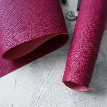 Пурпурный кожзаменитель Питон