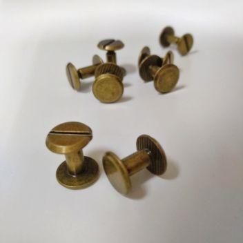 Болты для кольцевого механизма 7мм Бронза 2шт.