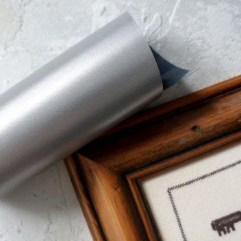 Светоотражающая пленка Серебро с возможностью печати (Франция)