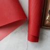 Красный кожзаменитель с тиснением Ящерица