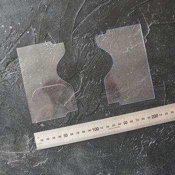 Комплект крыльев для бумажников водителя Арт. P-16