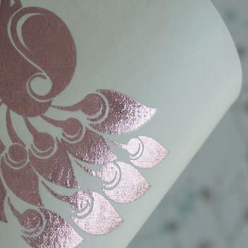 Термотрансферная стрейч-пленка под фольгу Розовое золото (Корея)