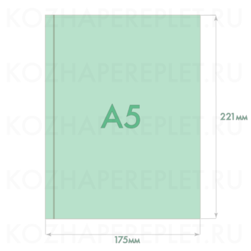 Файл для документов формат А5 (один карман) Арт. P-36