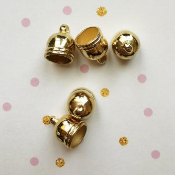 Колпачки для кисточек Фигурные Золото